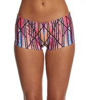 MPG Women's Sea Spray Print Hurricane Boy Shorts