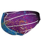 Keel Men's Splash ON Violet Water Polo Brief