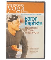 Yoga Journal Baron Baptiste Foundations of Power Vinyasa Yoga DVD