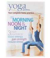 Yoga Journal Yoga For Morning, Noon & Night DVD with Jason Crandell