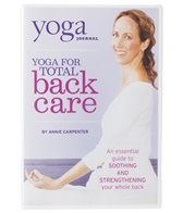 Yoga Journal Yoga For Total Back Care with Annie Carpenter DVD