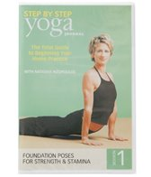 Yoga Journal Beginning Yoga Step by Step Session 1 DVD