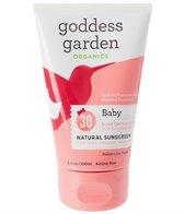 Goddess Garden Baby Organic SPF 30 Airline Size Tube (3.4 oz)