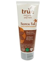 True Natural All Natural Tropical Self Tanning Lotion (Dark Tan, 4 oz)