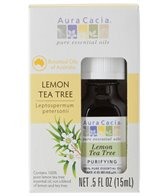 Aura Cacia Lemon Tea Tree 100% Pure Essential Oil - 0.5 oz