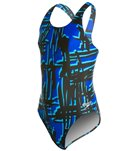 Speedo PowerFLEX Eco Must Be It Youth Dropback Swimsuit