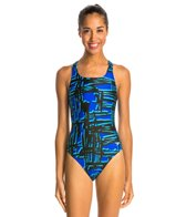 Speedo PowerFLEX Eco Must Be It Women's Dropback Swimsuit