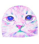 Speedo Cat Attack Silicone Swim Cap
