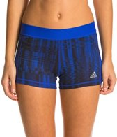 Adidas Women's Techfit 3 Printed Boy Short