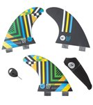 Creatures Nat Young Vert Series Dual Tab Surfboard Fins