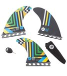 Creatures Nat Young Vert Series Single Tab Fins