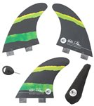 Creatures Mitch Coleborn Vert Series Dual Tab Surfboard Fins