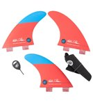 Creatures Mitch Coleborn Arc Series Dual Tab Surfboard Fins