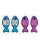 H2O Toos No DQ Fish Vertical Temporary Tattoo
