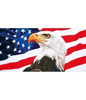 dohler USA 30x60 American Eagle Beach Towel 30 x 60