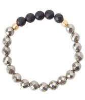Satya Jewelry Pyrite Beaded Bracelet