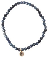 Satya Jewelry Dumorite w/ Moon Beaded Bracelet