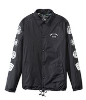 Quiksilver Men's Death by Stereo Coach Jacket