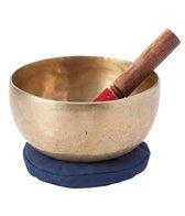 Sacred Space Lg Healing Grade A/G Chakra Tibetan Singing Bowl 7.25 #A1043