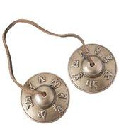 Sacred Space ~Med Premium Om Mani Padme Hum Tibetan Gong Tingsha Cymbals