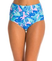 Motel Palm Glitch Baba High Waist Bikini Bottom