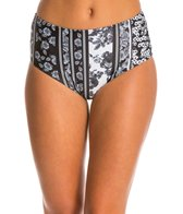 Motel Longline High Waist Bikini Bottom