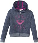 Roxy Girls' Good Life Zip Up Hoodie Sweater (7yrs-16yrs)