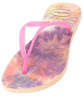 Havaianas Women's Slim Tie Dye Flip Flop