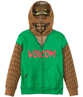 Volcom Boys' Werewolf Full Zip Hoodie Sweater (2T-7yrs)