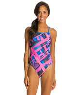 Dolfin Bellas Moda Cross Back One Piece Swimsuit