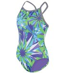 Dolfin Uglies Girls' Dazzle One Piece Swimsuit (8-16)