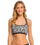 Nike Women's Current Racerback Sport Bra Bikini Top