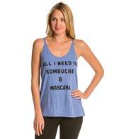 YogaRX Kombucha & Mascara Slouchy Tank