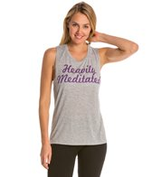YogaRX Heavily Meditated Muscle Tee