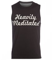 Yoga Rx Men's Heavily Meditated Muscle Workout Shirt