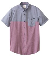 Rusty Men's Rattler S/S Shirt