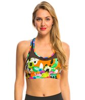 Trina Turk Mesh Back Yoga Sports Bra