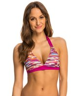 Prana Women's Feather Rainblur Lahari Halter Bikini Top