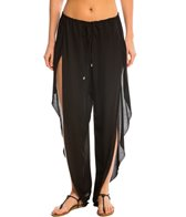 Indah Need Want Love Val Solid Drawstring Butterfly Cover Up Pant
