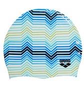 Arena Camo Print Swim Cap