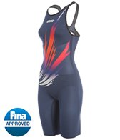 Arena USA Swimming Kazan Edition Carbon Air Full Body Short Leg Open Back Tech Suit