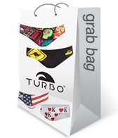 Turbo Men's Water Polo Brief Grab Bag