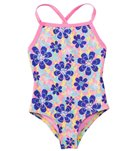 TYR Girls' Poppy Diamondfit One Piece Swimsuit (2T-12yrs)
