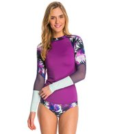 Roxy Women's Carribean Sunset Long Sleeve Rash Guard