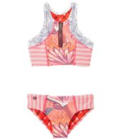 Maaji Girls' Cinnamon Surfer High Neck Two Piece (2yrs-16yrs)