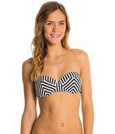 Volcom Broken Lines Underwire Bandeau Bikini Top