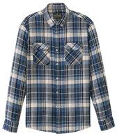 United By Blue Men's Juniper Plaid Long Sleeve Shirt