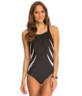 Miraclesuit So It Seams Blades One Piece Swimsuit