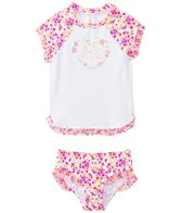 Hula Star Girls' Fairy Dance Rashguard Two Piece Set (2yrs-6yrs)