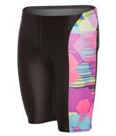 Speedo Flipturns Spot Printed Jammer Swimsuit